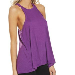 Free People Long Beach Violet Tank Top. M